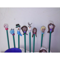 Lapices De Ana, Elsa, Olaf, Doctora Juguetes, Sofia