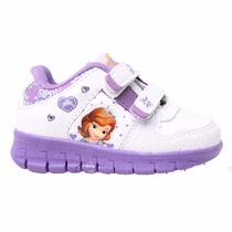 Zapatillas Addnice Disney Princesita Sofia Luces Mundomanias