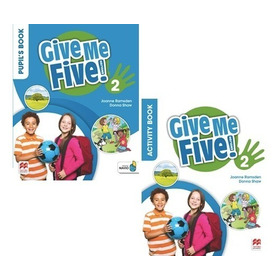 Give Me Five 2 - Pupil´s And Activity Book - Macmillan
