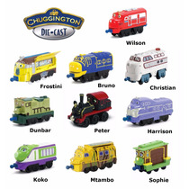 Chuggington Trenes Individuales Licencia Original Blister