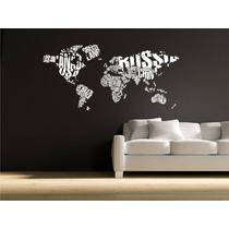 Vinilos Decorativos Diseño Murales Fotomural Mapas Adhesivos