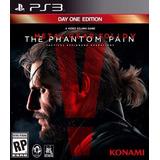 Metal Gear Solid 5 V The Panthom Pain Ps3 Digital | Falkor!