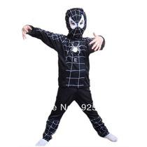 Disfraz Spiderman Hombre Araña Negro Elreysancho Urquiza
