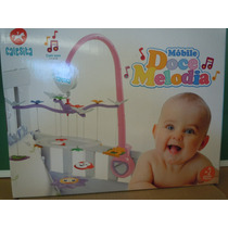 Movil 12 Melodias Para Bebes Calesita Con Espejo ,cuna O -