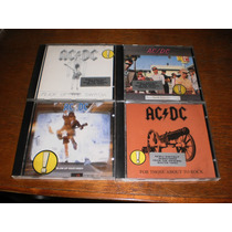 Lote De 4 Cd Ac/dc Dio Black Sabbath Kiss Queen Motorhead.