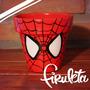 Macetas Pintadas A Mano El Hombre Araña/spiderman!