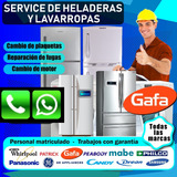 Service Heladera Reparacion Carga De Gas Aire Lg Whirpool Lg