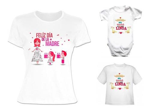 clientes primero 100% originales los más valorados Remera Mamá + Hijo Regalo Día De La Madre Personalizado! en ...