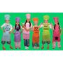 Delantales Infantiles Cocinero Friselina 80grs Personalizado