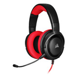 Auriculares Corsair Hs35 Stereo Red