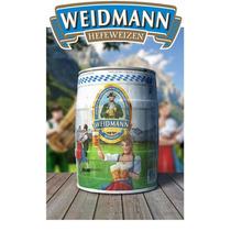 Cerveza Weidmann De Trigo Barril 5 Litros