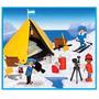 Playmobil 3463 Campamento Explorador Polar Original Antex