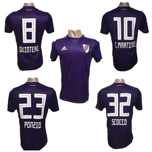 699f27d05 Camiseta De River Plate Suplente 2019 Violeta Para Niños