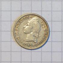 Republica Dominicana 10 Centavos 1942