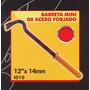 Barreta Mini De Acero Forjado Black Jack I010#