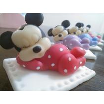 Souvenir Mickey Bebe En Porcelana Fria
