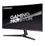 Monitor Pc Gamer Curvo 32'' Samsung 144hz Qled Widescreen Serie Jg50 Hdmi Display Port Garantia 3 Años