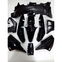 Kit Plasticos Completo Motomel Cg 150 S2 Y S3 Original Negro
