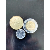 Numismatica Lote De 3 Monedas- Liras -italia