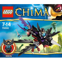 Lego Legends Of Chima 70000 Razcal Glider