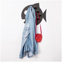 Doris, Perchero Pez, Color Rojo, Mole Design
