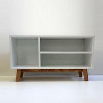 Mundo Minimal Mueble Cómoda Vintage Nórdico Madera Rack Lcd