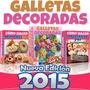 Nuevo Libro 2015 Hacer Galletas Decoradas Paso A Paso