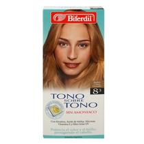 Biferdil Tono S/tono Nro 8.3 Rubio Claro Dorado V Beautyshop