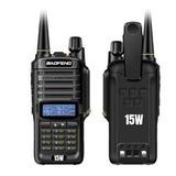 Handy Baofeng Uv9r Plus 15w Uhf- Vhf Ip67 8000mah 2019