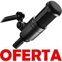Microfono Condenser Grabacion Audio Technica At2020 Cardioid