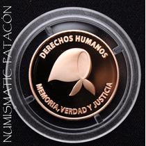 Moneda Oro 900 - Defensa De Los Derechos Humanos