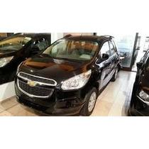 Chevrolet Spin Lt Negra Okm Para Taxi Modelo 2016