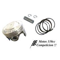Kit Piston Competicion 110cc 52,4 A 53,4 Alta Compresion Cdi