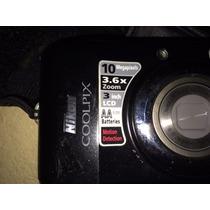 Camara De Fotos Nikon Coolpix L20 10 Megapixeles