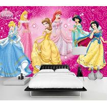 Murales Impresos Especial Princesas Colocación Sin Cargo!!!