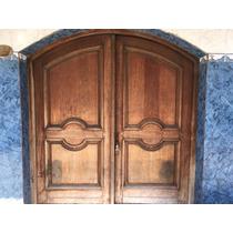 Portón Madera 2 Puertas Hermoso