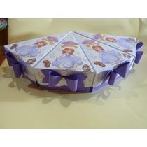 Cajas Golosineras Con Forma Porcion De Torta