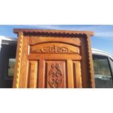 Puertas Talladas De Algarrobo Macizo