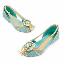 Zapatos Disfraz Jasmin De Aladino Disney Store Usa Original