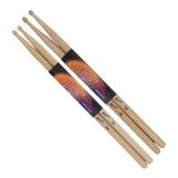 Palillos Baquetas Para Bateria Percusion 5a 5b La Roca