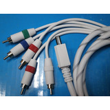 Cable Videocomponente Nintendo Wii 1.80 Mts.