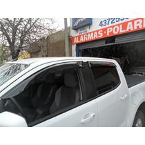 Jgo Deflectores Ventanillas Chevrolet S-10 2013 Del Y Tras