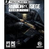 Rainbow Six Siege Year 3 Pass [codigo Digital]