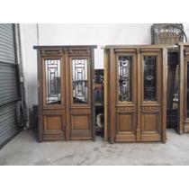 Elcarreton Puertas Antiguas De Estilo 2hojas Tallas Rejas