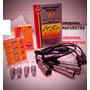 Kit Cables Y Bujias Ngk Vw Gol Power 1.6