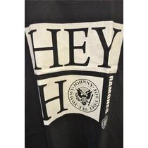 Musculosa Hey Ho Ramones Johhny Joey Negra/blanca