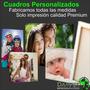 Cuadros Personalizados 0,70x1 Mt Impresión Fotos 15 Años