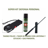 Kit De Defensa Personal Maxima Seguridad