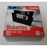 Disco 3 1/2 3,5 Nuevos Imation Caja Cerrada X 10 Unidades