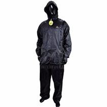 Traje Equipo Impermeable Campera Y Pantalon Para Moto
